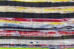 Fabric colurful detail alternation  pattern Stock Image