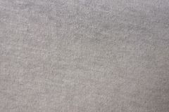 Fabric from cotton, jersey, natural, a close up Royalty Free Stock Photography
