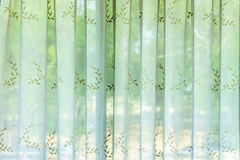 Fabric curtain Stock Images