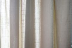 Fabric curtains Royalty Free Stock Photos