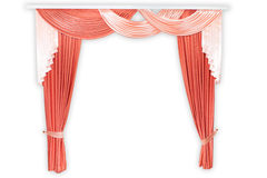 Fabric curtains Royalty Free Stock Image