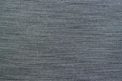 Fabric dark gray background Stock Images
