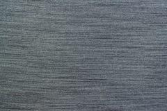 Fabric dark gray background Stock Images