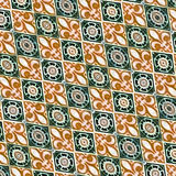 Fabric decorative background Royalty Free Stock Photography