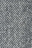Fabric design. A design on fabric of black and white lines Royalty Free Stock Photos