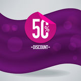 Fabric discount Royalty Free Stock Photography