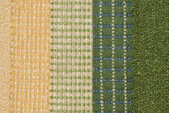 Fabric with display of  textures Stock Image