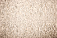 Fabric with embossed pattern background. Horizontal Royalty Free Stock Photography