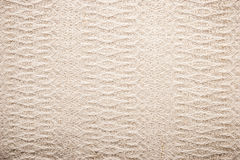 Fabric with embossed pattern background horizontal Royalty Free Stock Photos