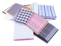 Fabric. fabric samples on background. Fabric. fabric samples on the background Royalty Free Stock Image