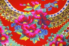 Fabric floral royalty free stock images