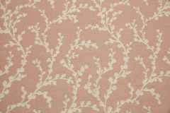 Fabric with floral design Stock Photography