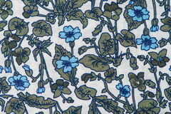 Fabric with floral patter Royalty Free Stock Photo