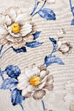 Fabric, floral pattern Stock Image