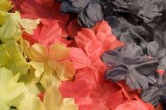 Fabric flower back Royalty Free Stock Photos
