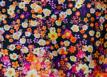 Fabric flower Stock Photography
