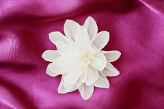 Fabric flower Stock Photo