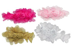 Fabric flower Royalty Free Stock Photos
