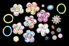 Fabric flower Stock Images