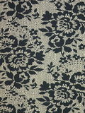 Fabric with flowers royalty free stock images