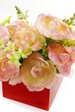 Fabric flowers Stock Image
