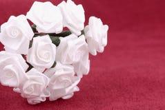 Fabric Flowers stock photo