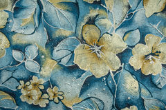Fabric flowers Royalty Free Stock Photo