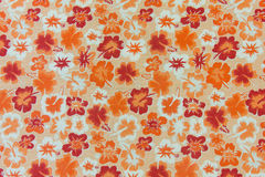 Fabric flowers background Royalty Free Stock Photos