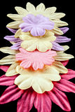 Fabric flowers Stock Photography