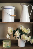 Fabric flowers Stock Photos