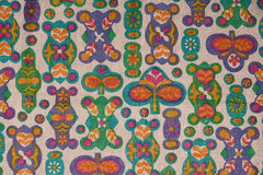 Fabric with funny pattern Stock Image