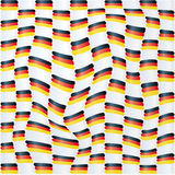 Fabric with germany flag pattern Stock Photo