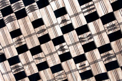 Fabric from ghana, africa Royalty Free Stock Photography