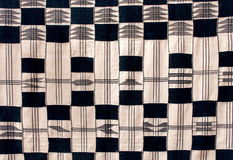 Fabric from ghana, africa Stock Image