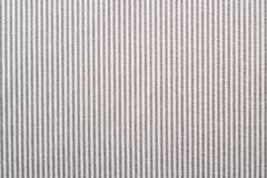 Fabric with gray and white stripes Royalty Free Stock Photography