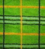 fabric green Arkivbild