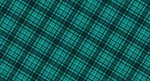 Fabric in green color, seamless tartan pattern Stock Photography