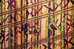 Fabric from guatemala Royalty Free Stock Image