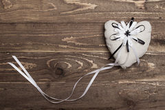 Fabric heart Stock Images
