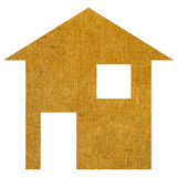 Fabric house Royalty Free Stock Photography