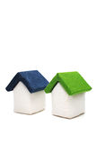 Fabric houses Royalty Free Stock Photo