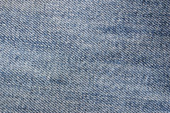 Fabric jeans worn Stock Photography