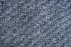 Fabric jeans worn Royalty Free Stock Image