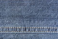 Fabric jeans worn Royalty Free Stock Photos