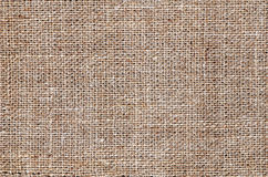Fabric jute burlap Royalty Free Stock Photos