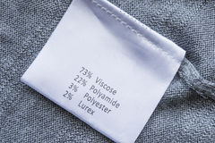 Fabric label Stock Photos