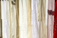 Fabric with lace Royalty Free Stock Photography