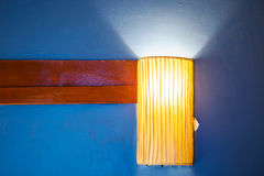 Fabric Lamp Stock Photography