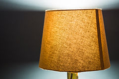 Fabric Lamp Stock Image