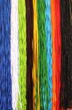 Fabric lanyards Royalty Free Stock Images